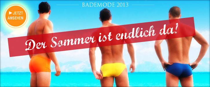 Beachwear 2013: Pool Pant, Hot Pant, Brief, Hipboxer, String, Boxer
