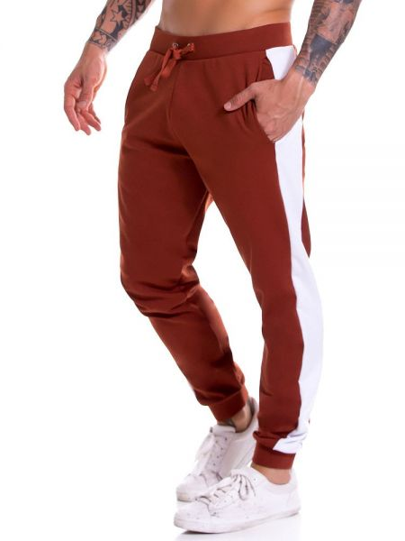 JOR Milan: Long Pant, terracotta