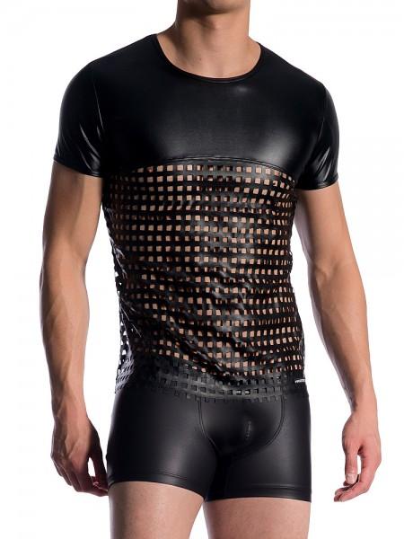 MANSTORE M767: Casual T-Shirt, schwarz