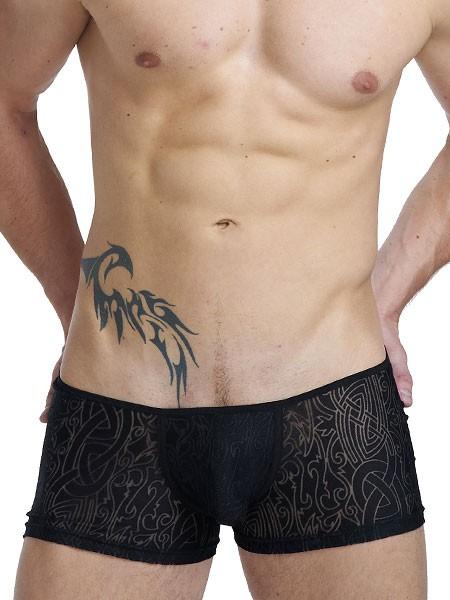 L'Homme Devoré Noir: Invisible Boxer, schwarz