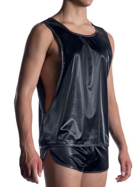 MANSTORE M2055: Freak Shirt, schwarz