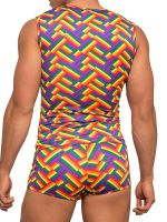 Male Power Pride Fest: Fitness Tanktop, bunt