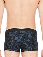 HOM Flowery: Boxer Pant, schwarz