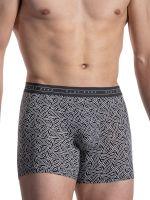 Olaf Benz RED2117: Boxerpant, schwarz/weiß