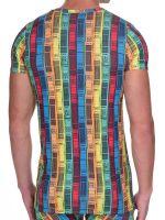 Bruno Banani Boarding: V-Neck-Shirt, print