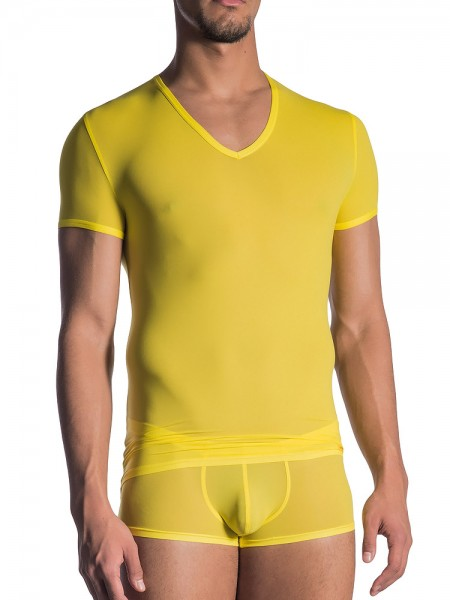 Olaf Benz RED0965: Phantom V-Neck-Shirt, sun