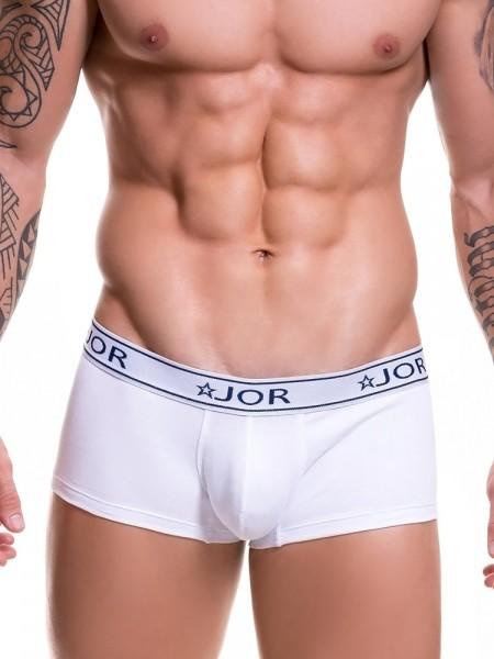 JOR Life: Boxerpant, weiß