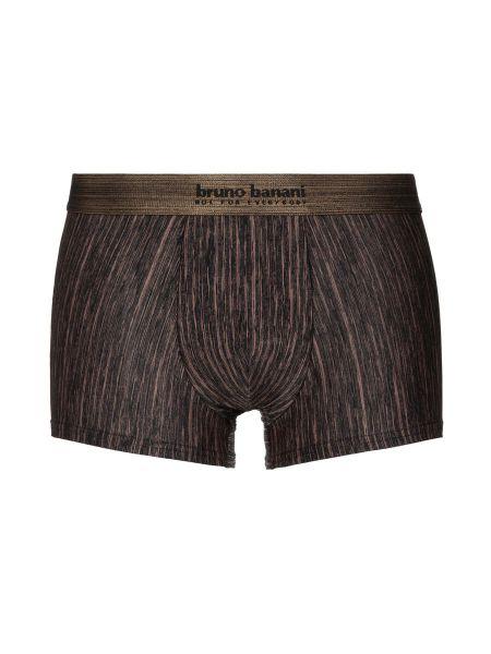 Bruno Banani Lava Field: Hipshort, schwarz/bronze stripes