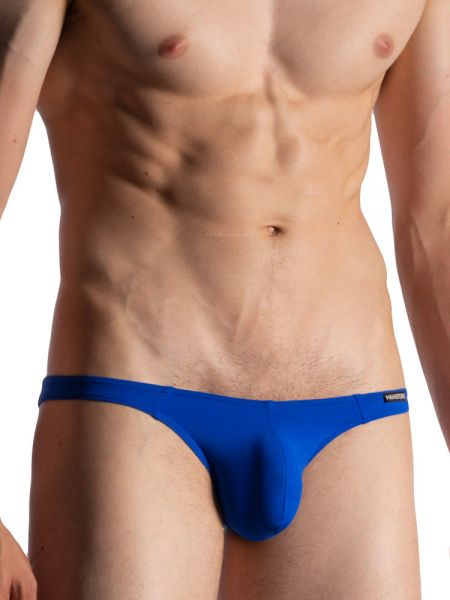 MANSTORE M800: Low Rise Brief, blau