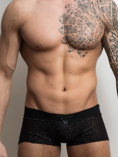 L'Homme Manta: V-Boxer, schwarz