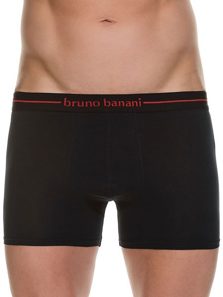 Bruno Banani Power Cotton: Short 3er Pack, schwarz