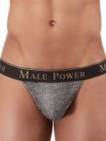 Male Power Viper: Micro G-String, grau