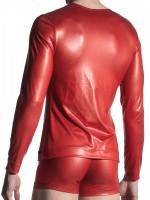 MANSTORE M510: Zipped Shirt, tabasco