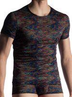 MANSTORE M913: Casual T-Shirt, schwarz/print