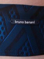 Bruno Banani Techno Freak: Bademinibrief, blau/schwarz