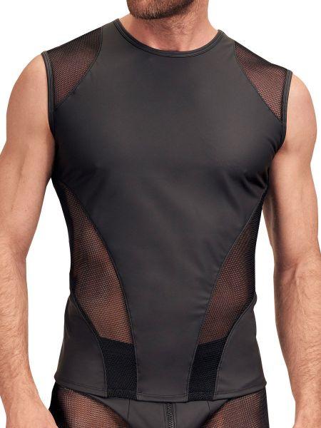 NEK Netz-Shirt,schwarz