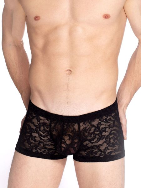 L'Homme Delos: Push-Up Shorty, schwarz