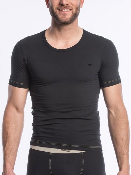 camel active Underwear 29: T-Shirt, schwarz