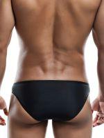 Joe Snyder Shining01: Bikini Brief, schwarz-matt