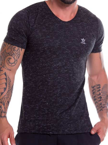 JOR Porto: T-Shirt, schwarz
