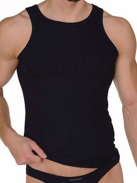 Bruno Banani Antistress: Sportshirt, schwarz