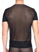 Look Me Brisk: T-Shirt, schwarz