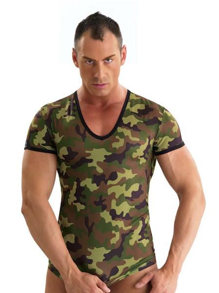 Eros Veneziani Julian: T-Shirt, grün