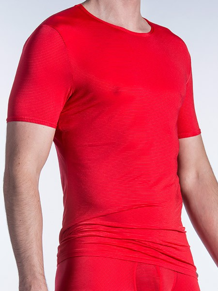 Olaf Benz RED1201: T-Shirt, rot