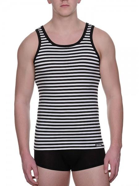 Bruno Banani Custody: Sportshirt, schwarz/weiß
