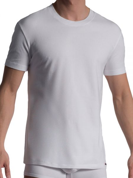 Olaf Benz RED1010: T-Shirt 2er Pack, weiß