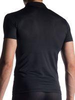 MANSTORE M913: Polo Shirt, schwarz