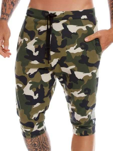 JOR Adventure: Lounge Pant, grün-camouflage
