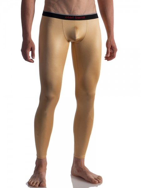 Olaf Benz RED1804: Leggings, gold
