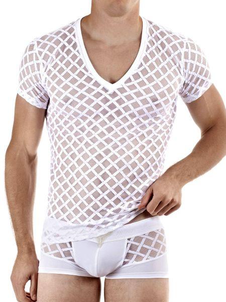 L'Homme Nightcall: T-Shirt, weiß
