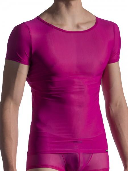 MANSTORE M804: Casual T-Shirt, magenta
