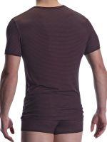Olaf Benz PEARL2001: T-Shirt, schwarz/rot