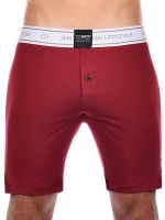 2Eros Core: Lounge Short, cabernet