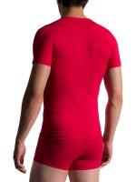 MANSTORE M200: Tactic V-Neck-Shirt, rosso