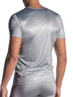 Olaf Benz RED1804: V-Neck-Shirt, silber