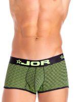 JOR Neon: Boxerpant, schwarz/grün