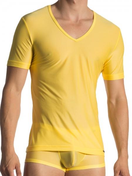 Olaf Benz RED1770: V-Neck-Shirt, sun