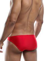 Joe Snyder Bulge04: Bikini Brief, crimson-red