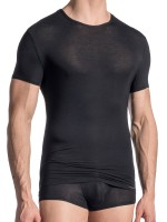 Olaf Benz RED1665: T-Shirt, schwarz