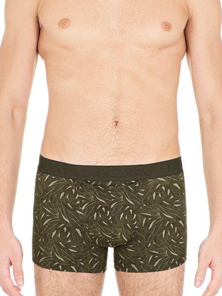 HOM Foliage: Boxer Pant, khaki green