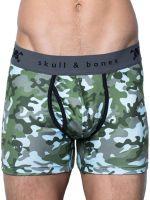 Skull & Bones Camo: Pant, grün