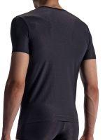 Olaf Benz RED1866: V-Neck-Shirt, schwarz