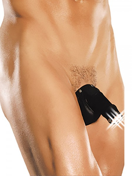 Male Power Fetish: Hero Cock-N-Ball Bag, schwarz