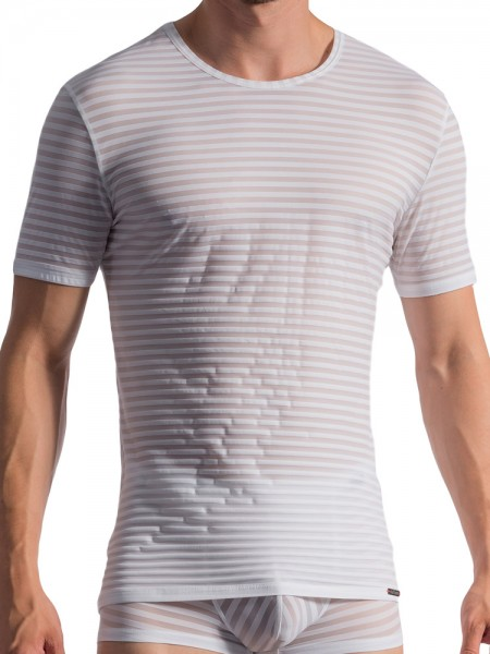 Olaf Benz RED1761: T-Shirt, weiß