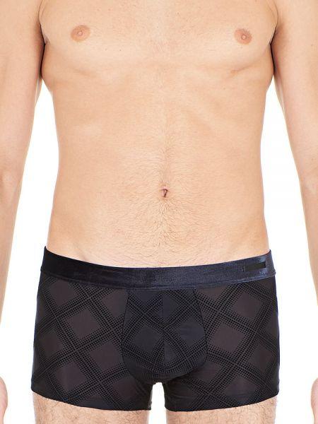 HOM Delicat: Boxer Pant, schwarz