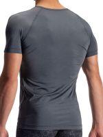 Olaf Benz PEARL1960: V-Neck-Shirt, platin
